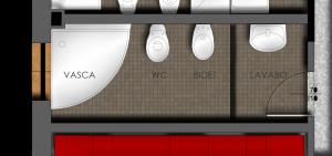 Ristrutturare Bagno: la disposizione del bagno lineare