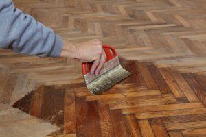 pavimento in legno finitura a olio