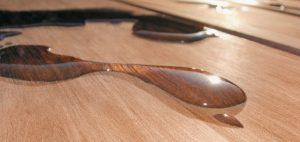 pavimento in legno olio cerato