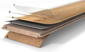pavimento in legno laminato