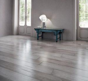 pavimento in legno a cassero irregolare