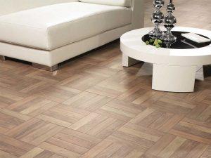 pavimento in legno posa a quadri