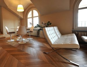 pavimento in legno a spina ungherese
