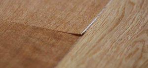 pavimento in legno scartellamento